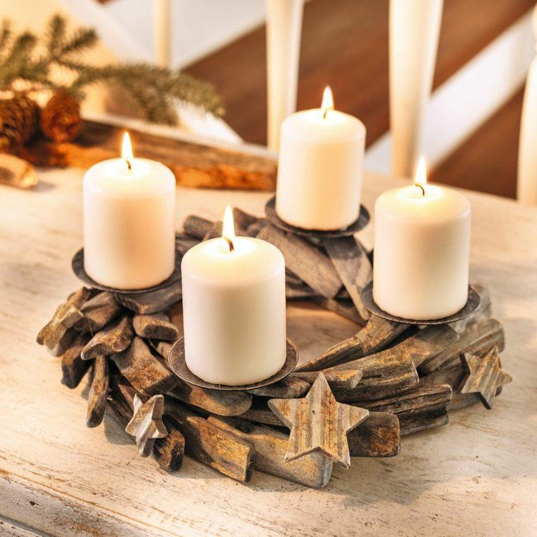 decoraciones para navidad-centro-mesa