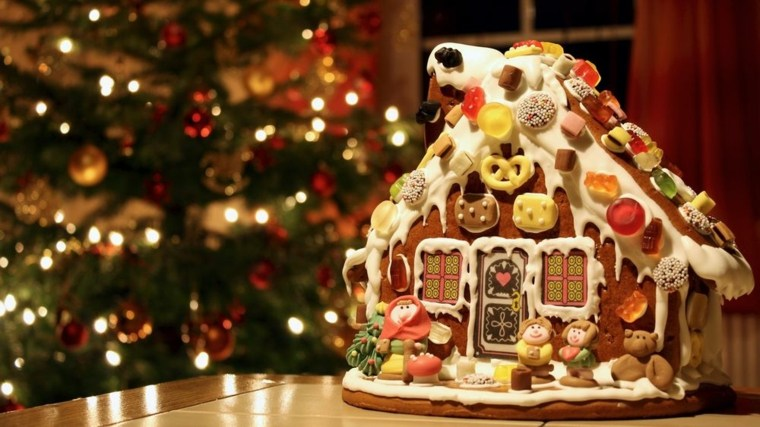 decoraciones para navidad-mesa
