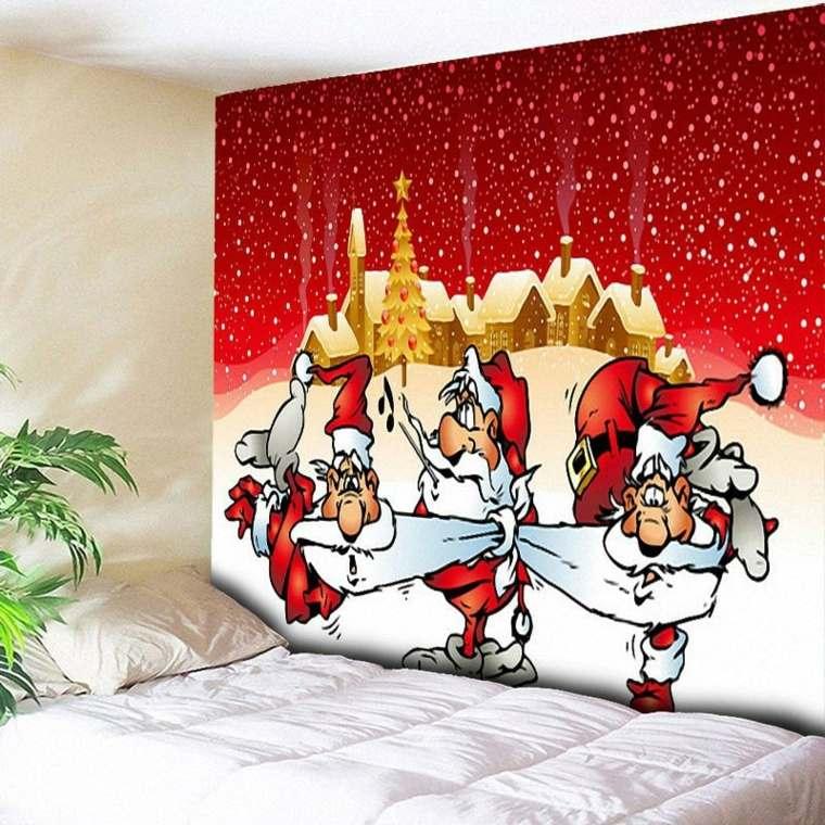 decoraciones para navidad-pared