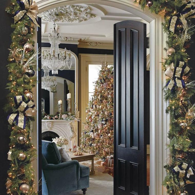 decoraciones para navidad-puerta