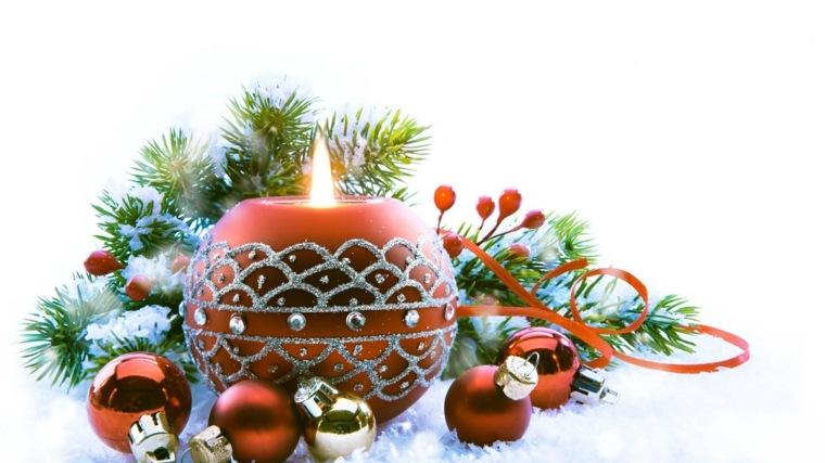 decoraciones para navidad-velas