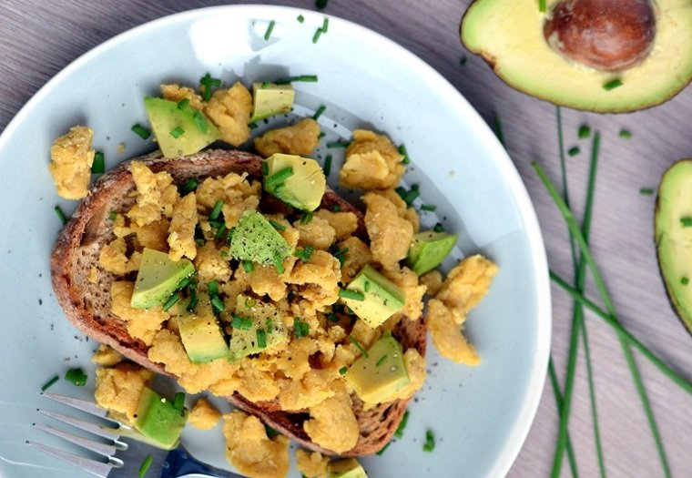 desayunos veganos-ideas-sudtituir-huevos