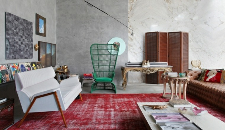 eclecticismo en interiores