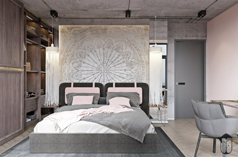 dormitorio-rosa-estilo-marroquí