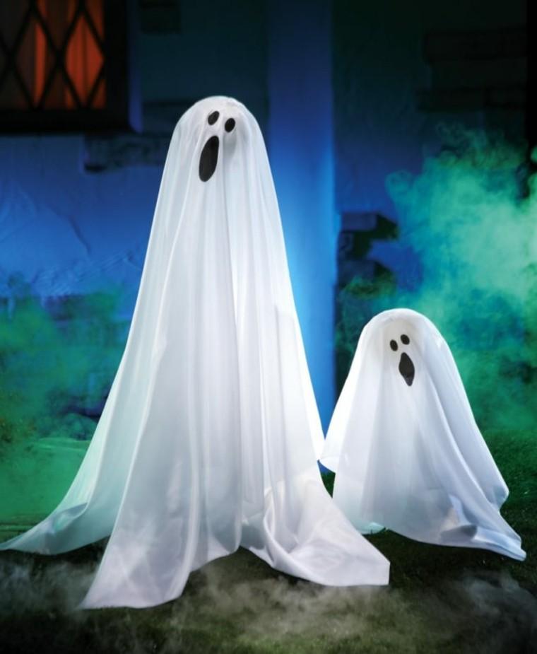 dos fantasmas para Halloween