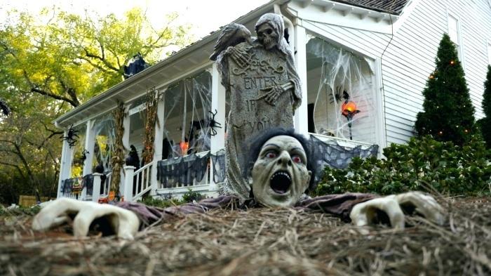 fiesta de halloween efectos decoraciones