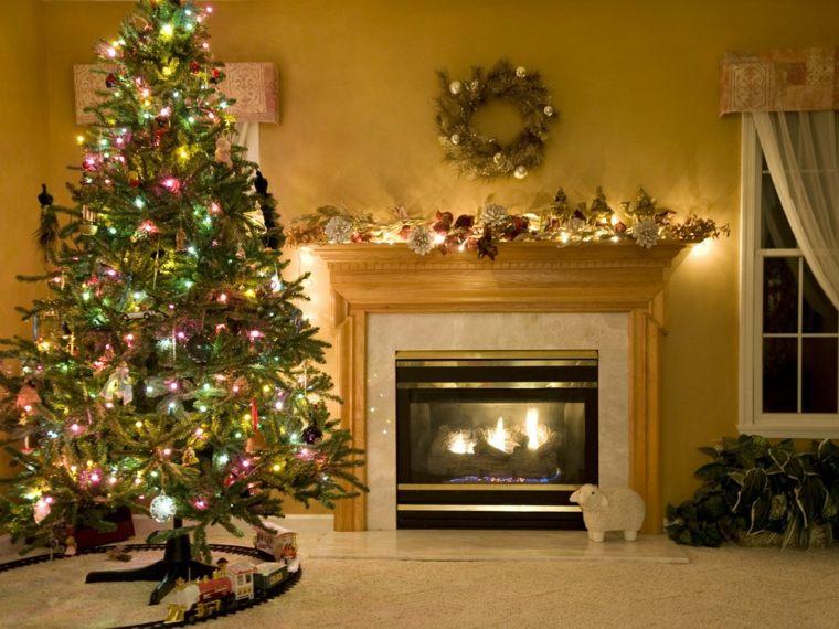 el arbol de navidad-brillante