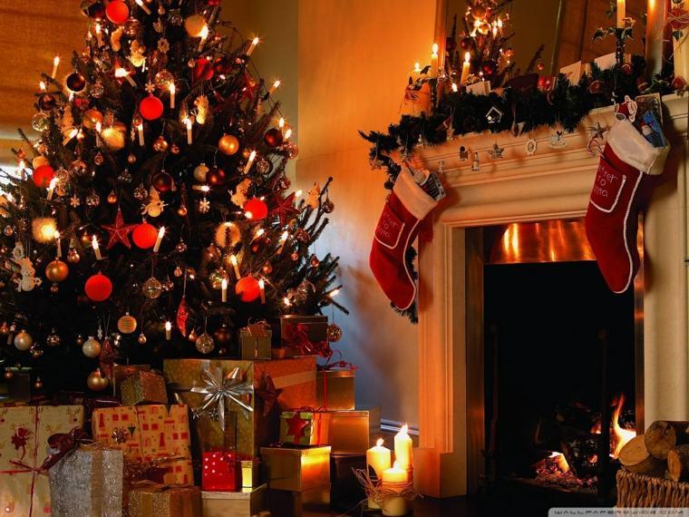 el arbol de navidad-decoracion-completa