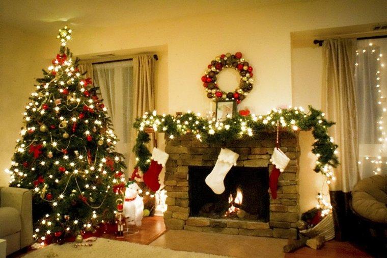 el arbol de navidad-luces