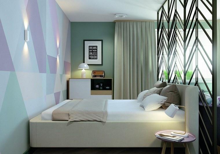 elementos-geometricos-distintos-colores-dormitorio