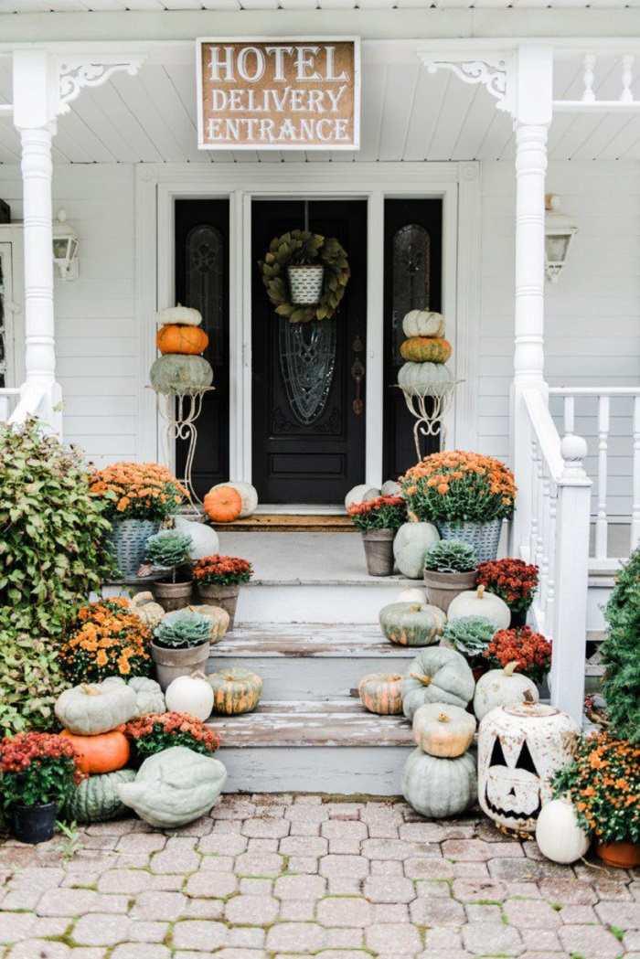 entrada-decorada-halloween-fiesta