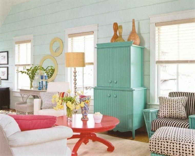 estilo de diseño de interiores-cotagge-ideas-muebles