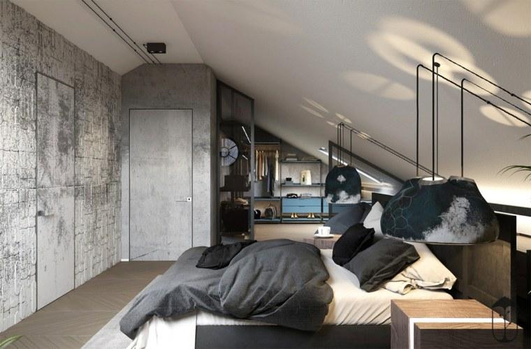 estilo-marroquí-dormitorio-ático