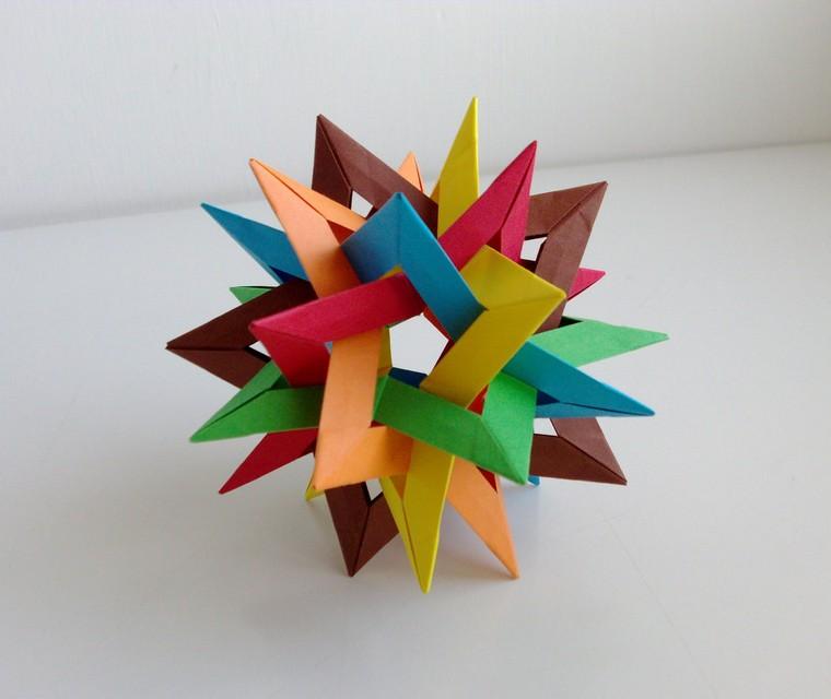 estrellas-decorativas-origami-colorido