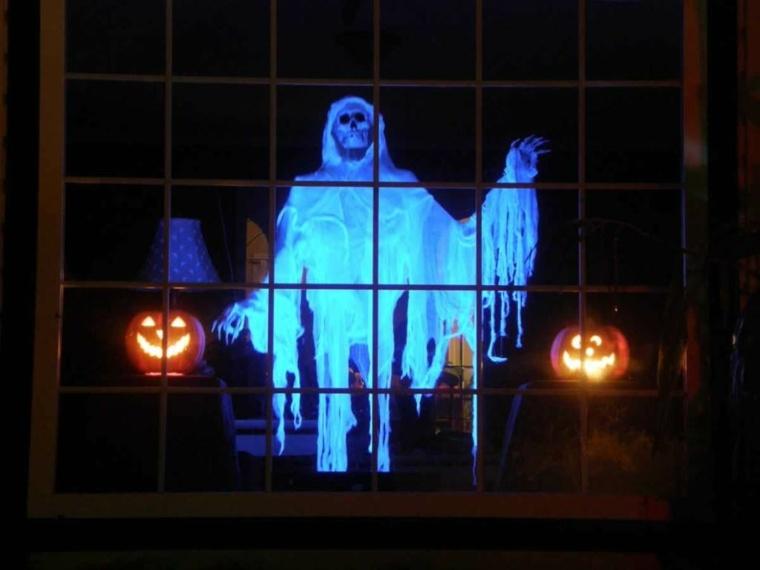 fantasma-para-Halloween-fluorescente