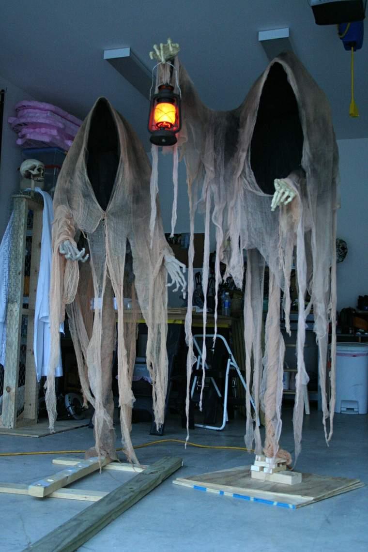 fantasmas para Halloween colgantes