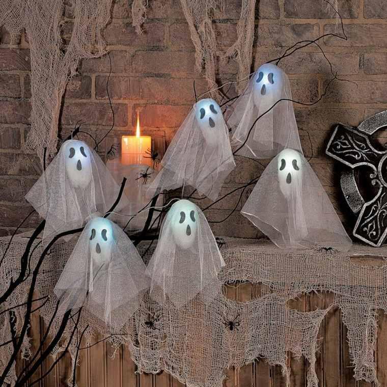 Fantasmas De Halloween Para Decorar El Interior Y El Exterior Del Hogar