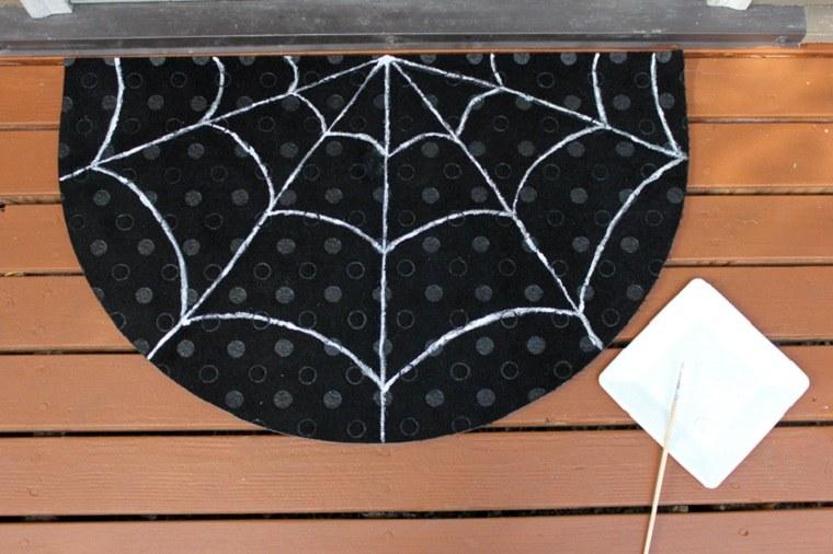 halloween 2018-felpudo-puerta-decoracion-ideas