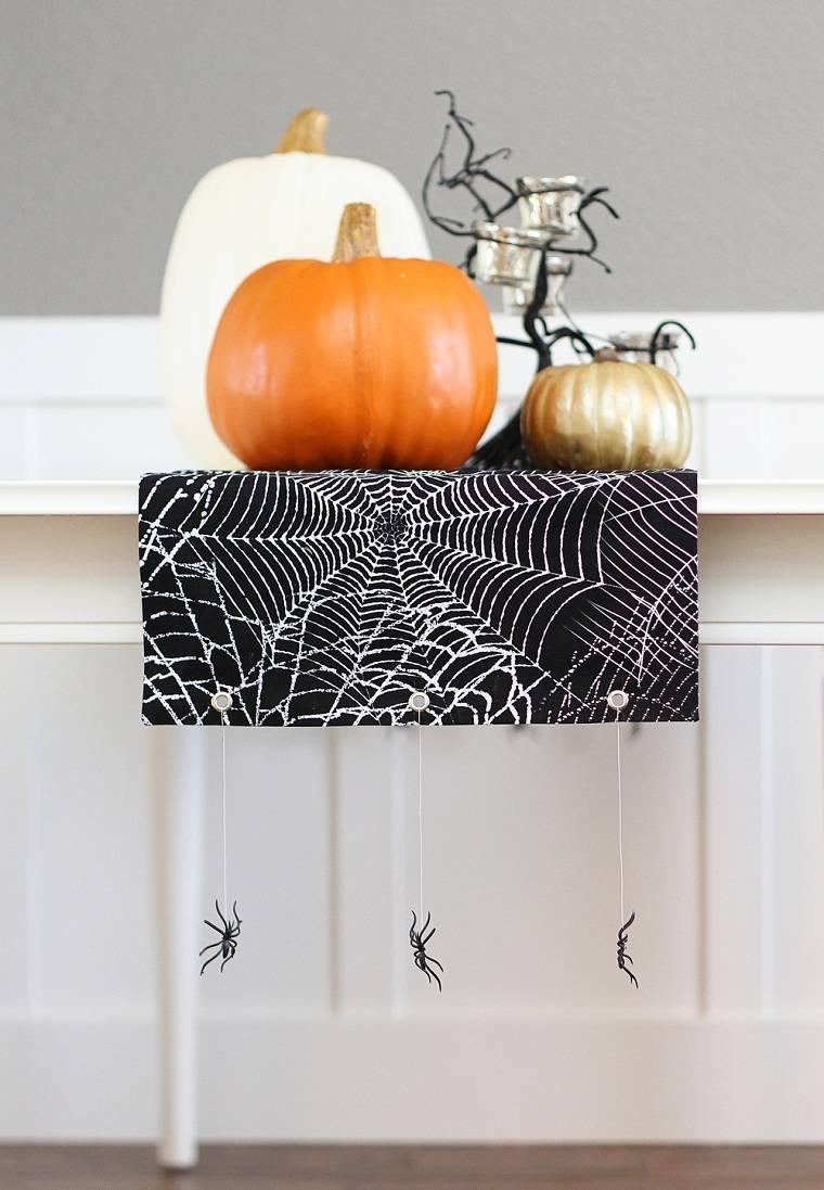halloween-2018-mantel-aranas-ideas-decorar