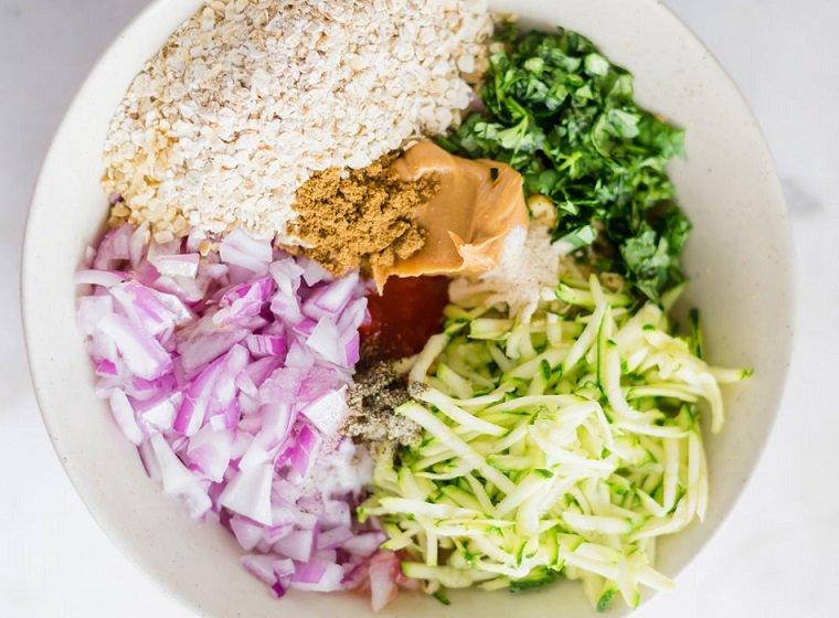 hamburguesas veganas-garbanzos-ideas-cocina-saludable