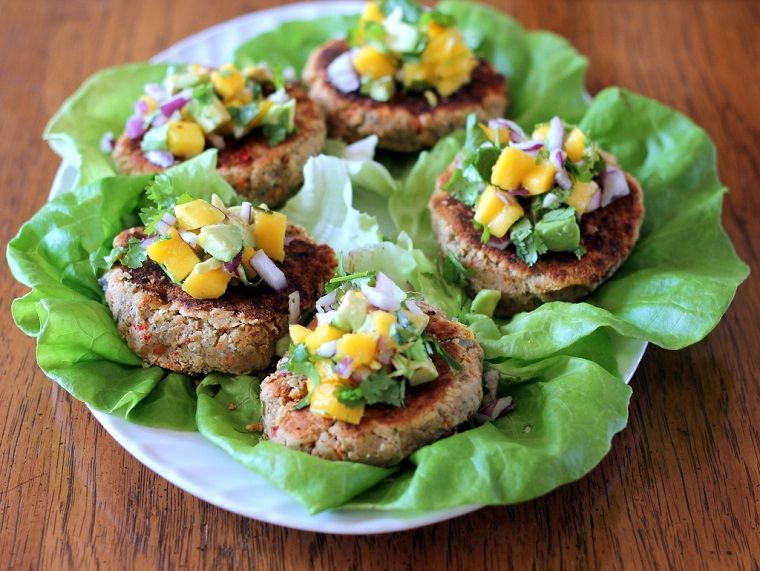 hamburguesas veganas-lentejas-receta-ideas