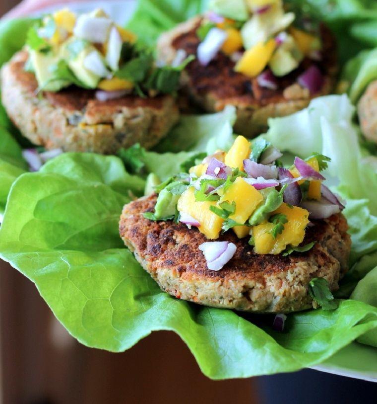 hamburguesas veganas-opciones-comida-ideas