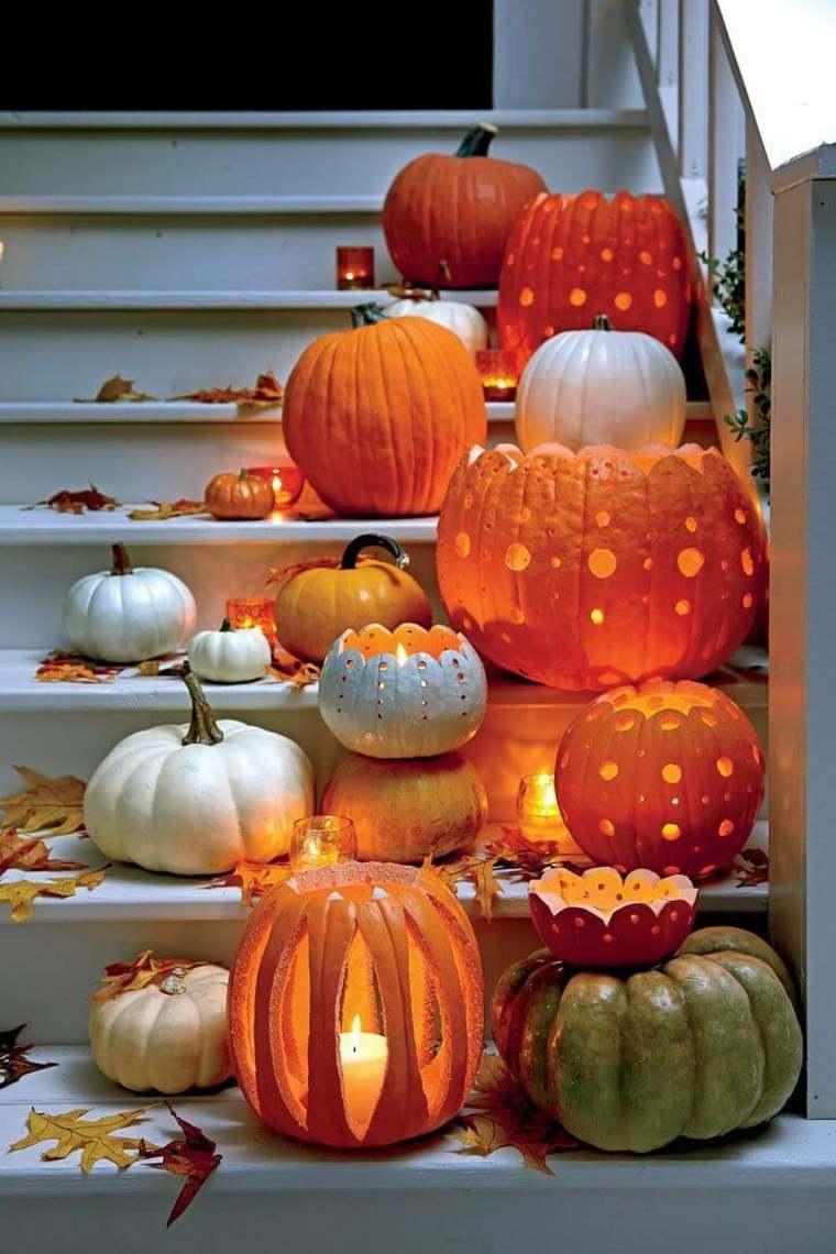ideas halloween-decorar-escalera