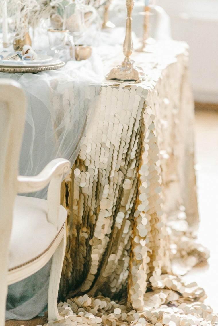 ideas para bodas-invierno-decoracion-elementos-dorados