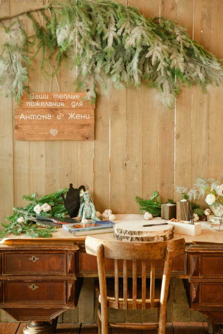 ideas para bodas-invierno-decoracion-elementos-naturales