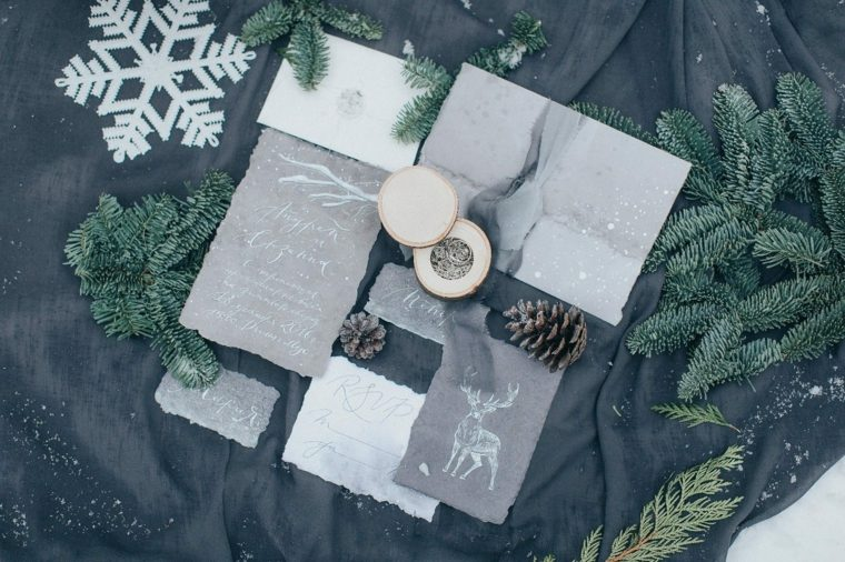 ideas-para-bodas-invierno-decoracion-invitaciones