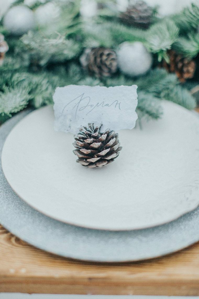 ideas-para-bodas-invierno-decoracion-plato-pina