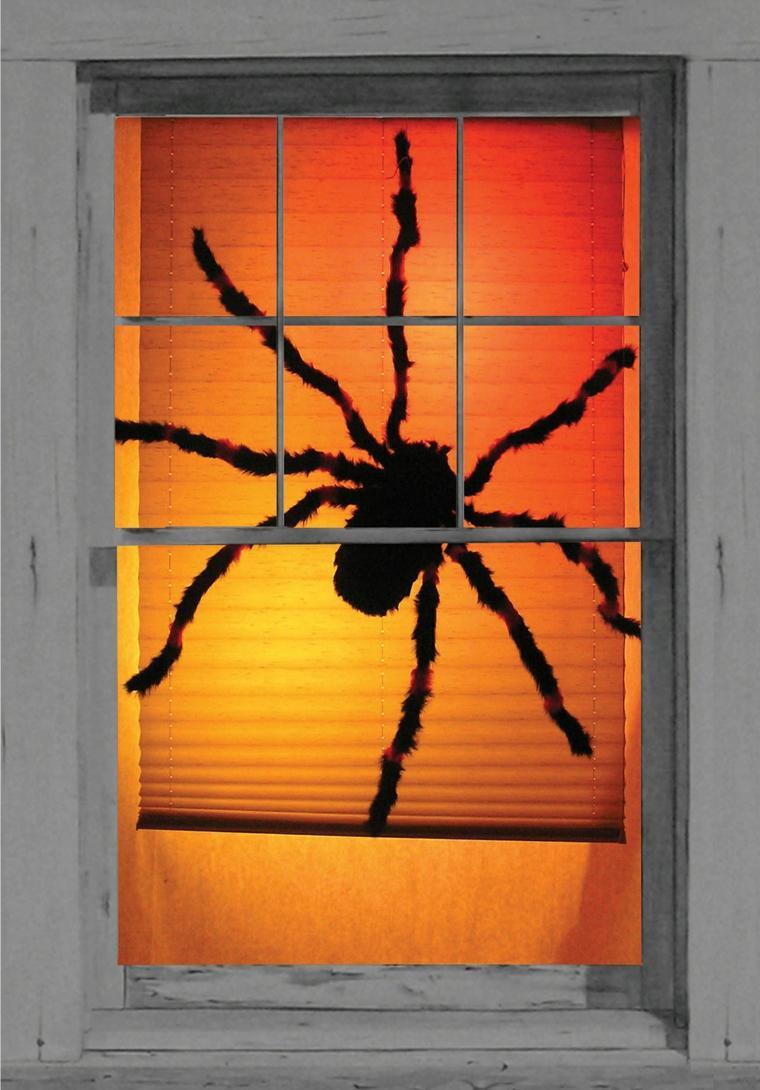 ideas para halloween-ventanas