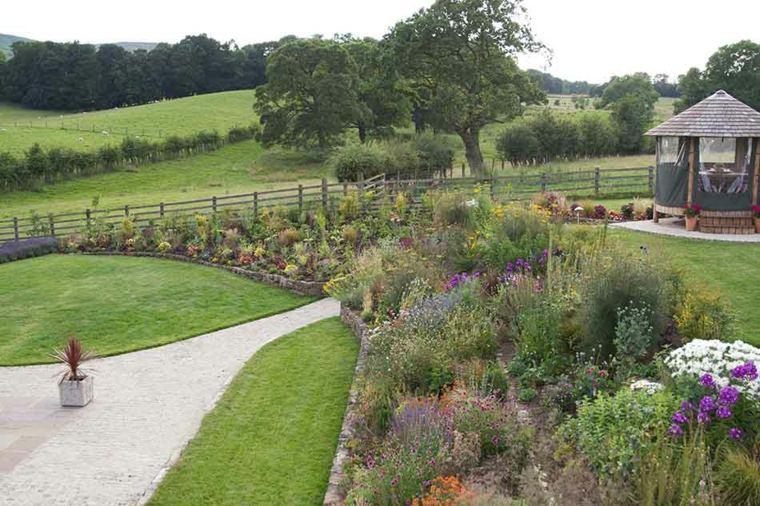 ideas para jardines contemporáneos