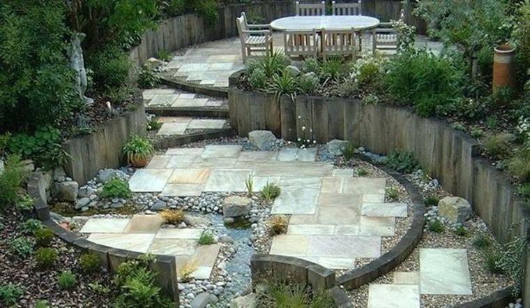 ideas para jardines muros