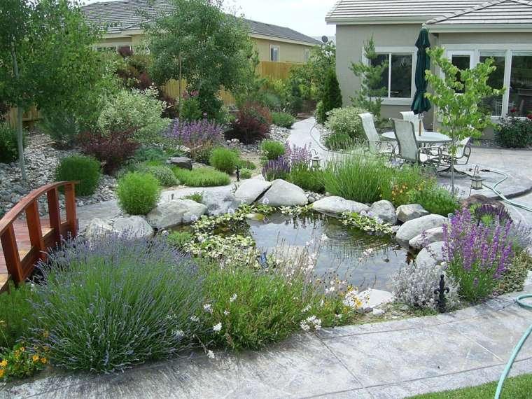 jardín-con-estanque