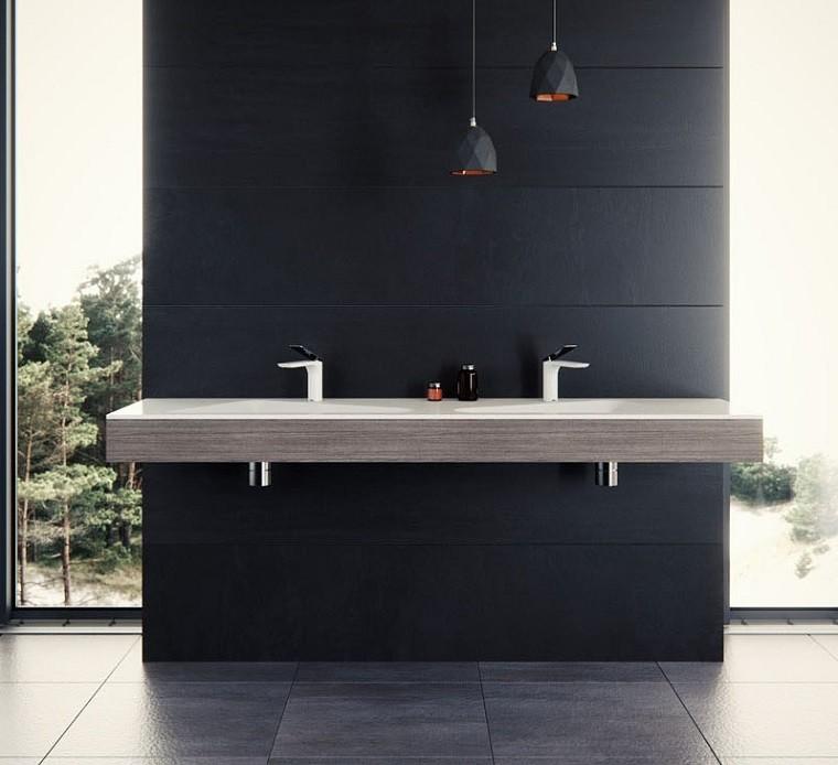 lavamanos modernos espacio bano moderno