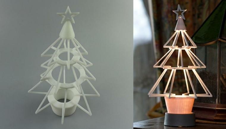 adornos de Navidad estilo minimalista