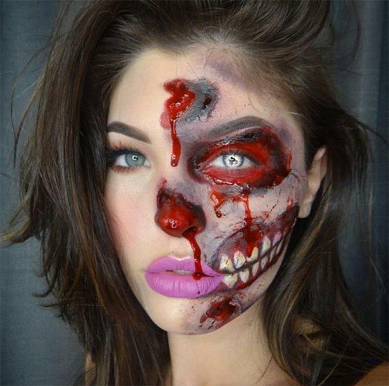 maquillaje-de-Halloween-deterioro