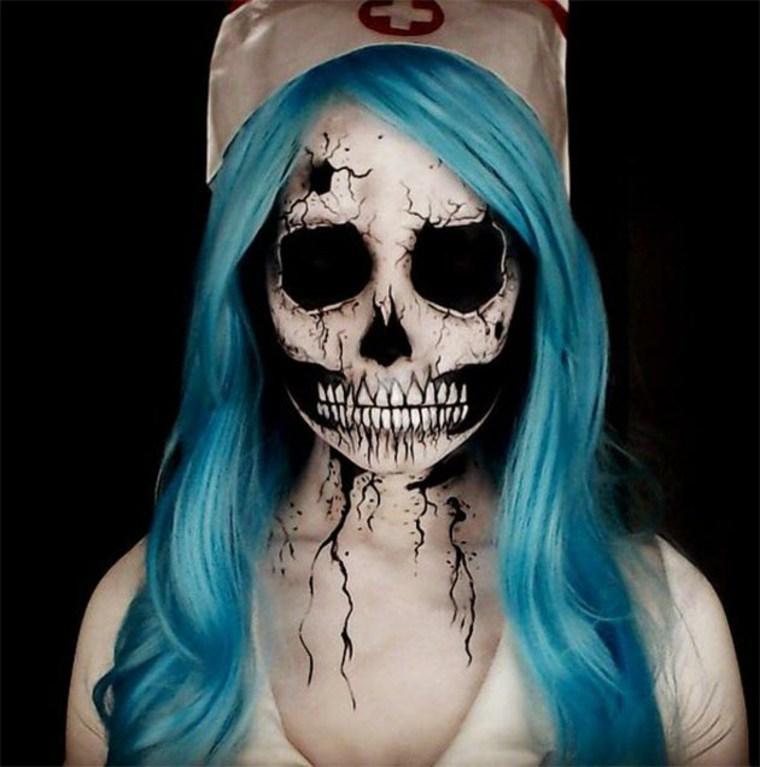 maquillaje-de-Halloween-enfermera