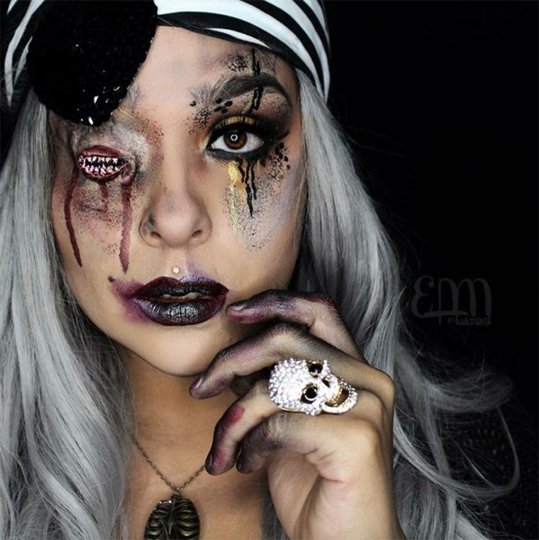 maquillaje-de-Halloween-horroroso