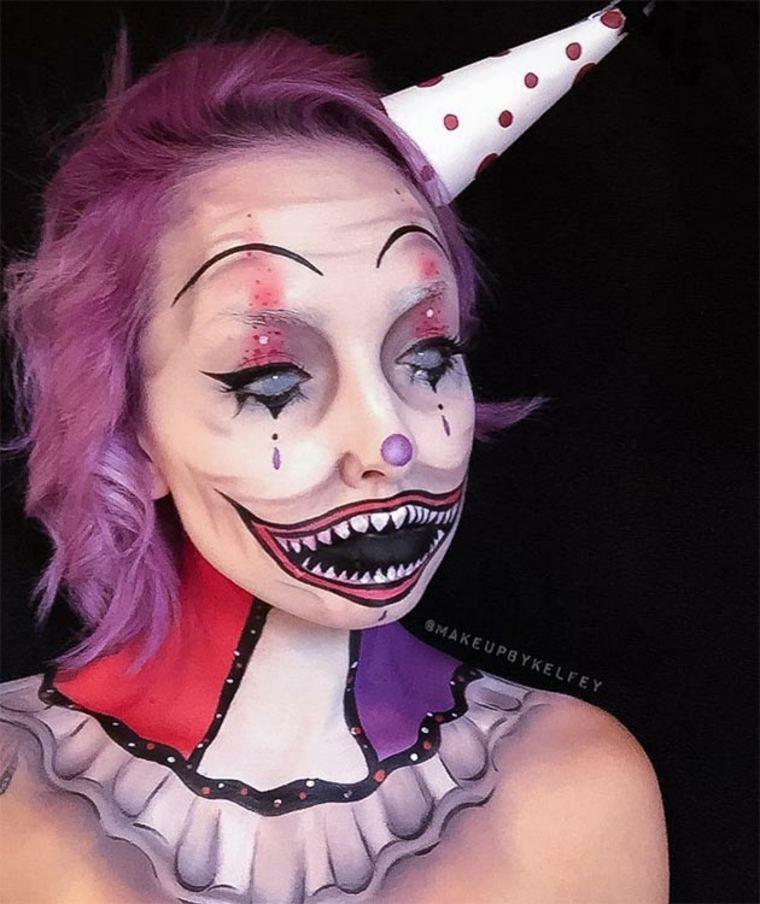 maquillaje-de-Halloween-payaso