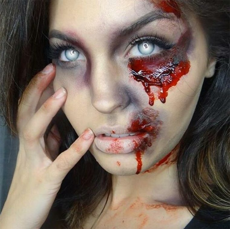 maquillaje-de-Halloween-zombi-fresco