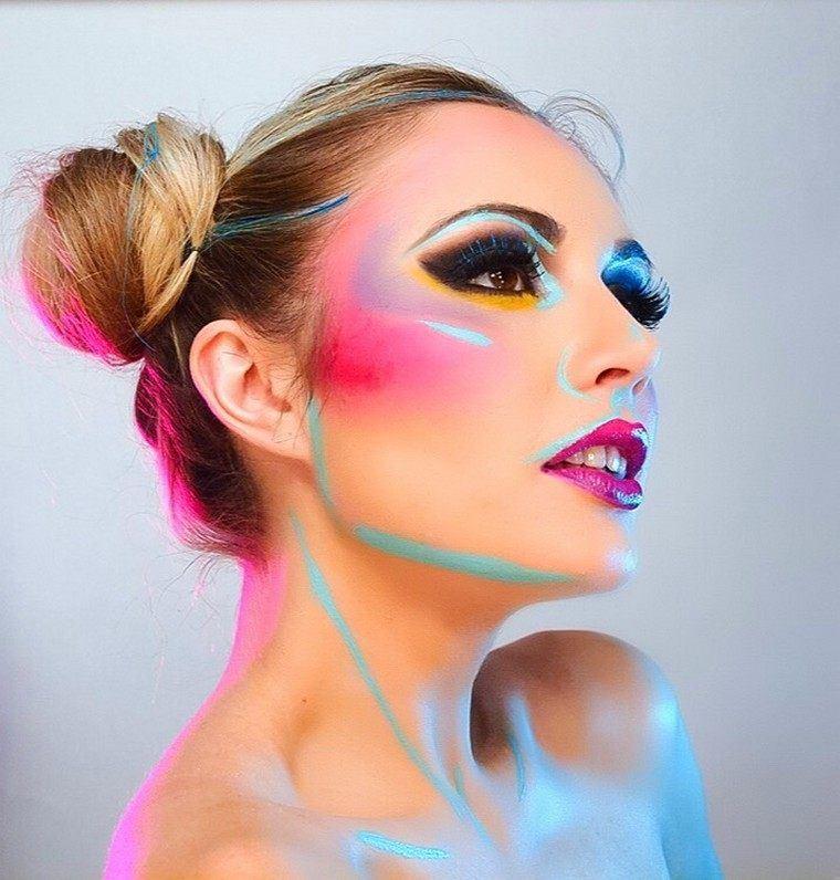 maquillaje-de-halloween-creativo-jugar-ideas-cabello