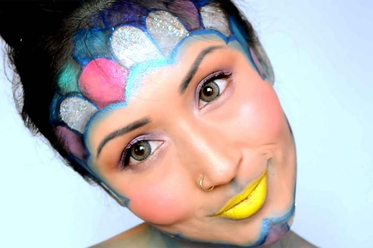 maquillaje-de-halloween-creativo-mujer