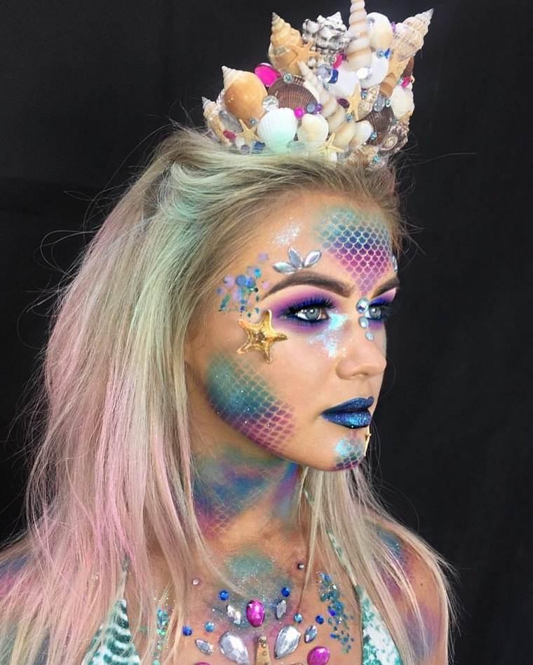 maquillaje-de-halloween-ideas-criatura-belleza
