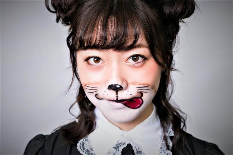 maquillaje-de-halloween-ideas-gato-opciones