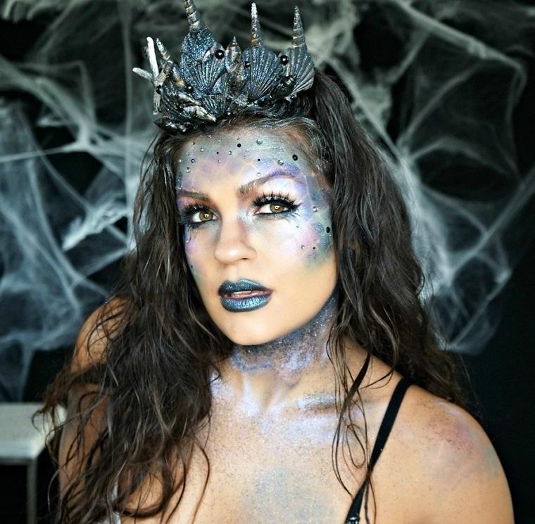 maquillaje-de-halloween-ideas-sirena-detalle-corona