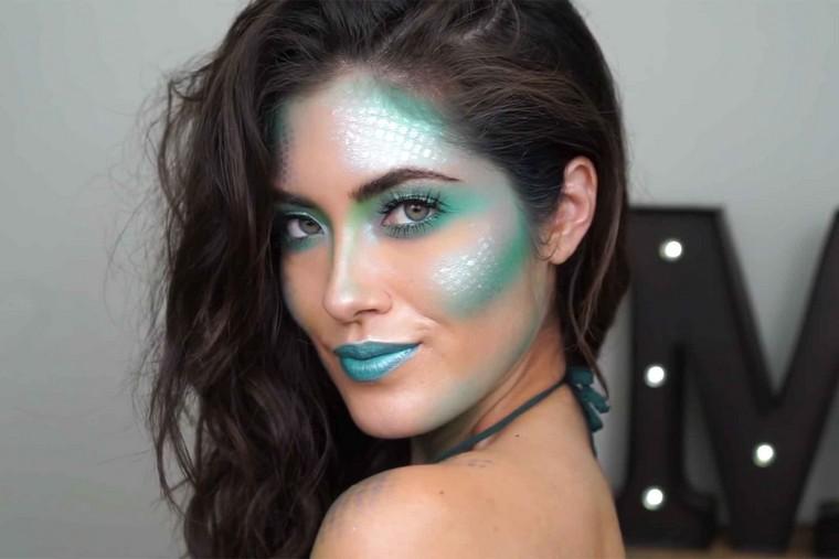 maquillaje-de-halloween-ideas-sirena