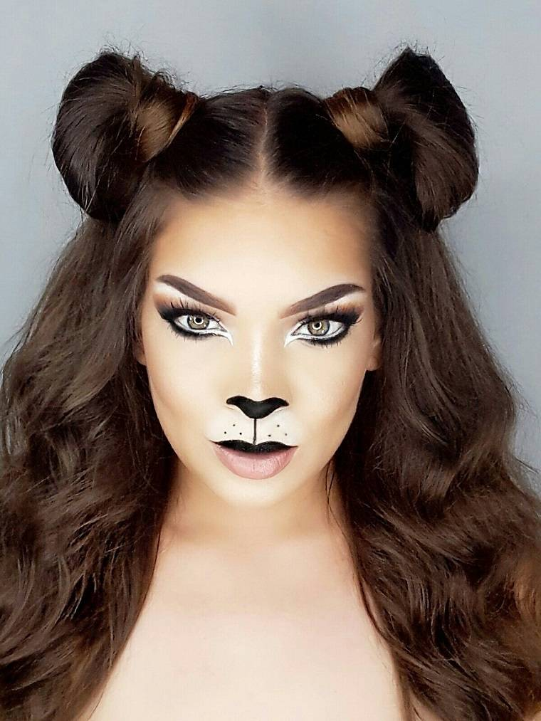 maquillaje-halloween-animal-gato