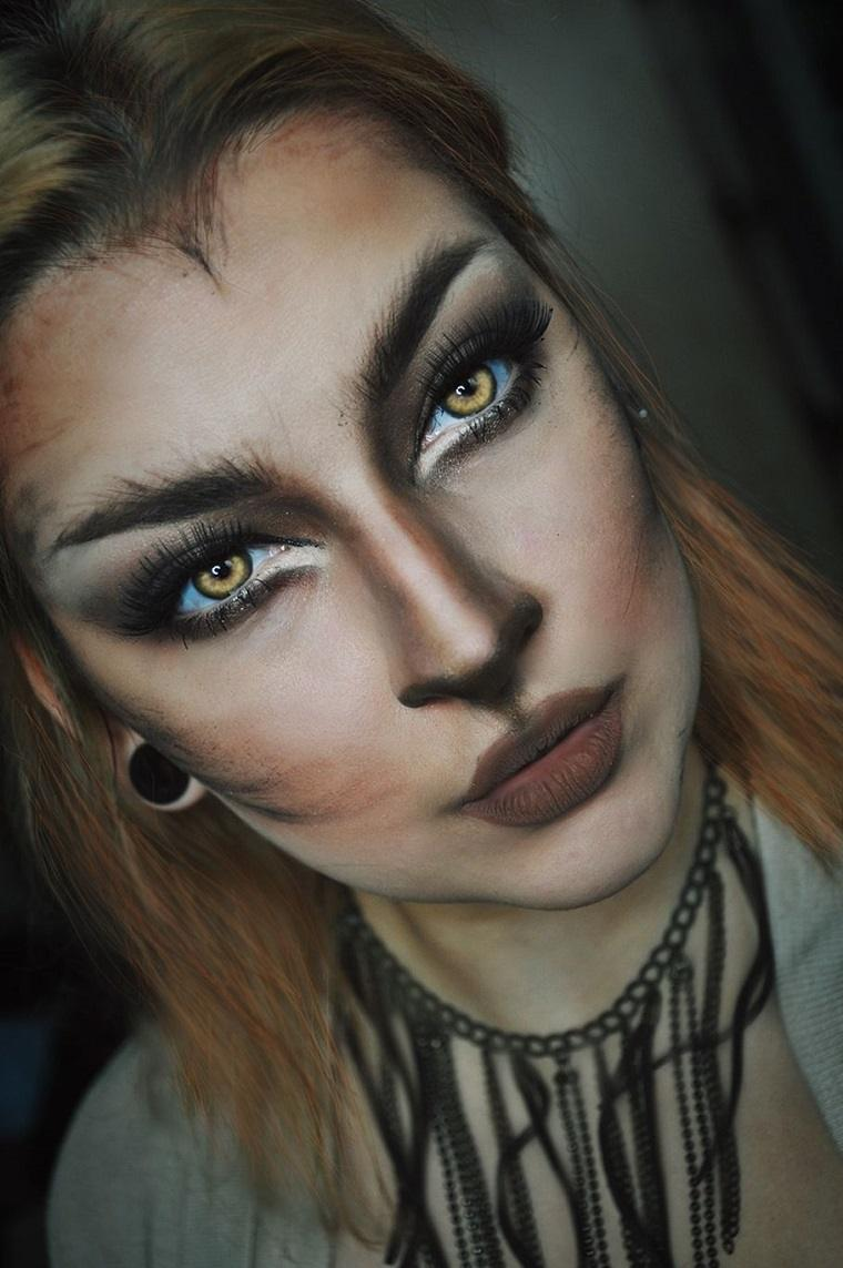 maquillaje-halloween-animal-hombre-lobo